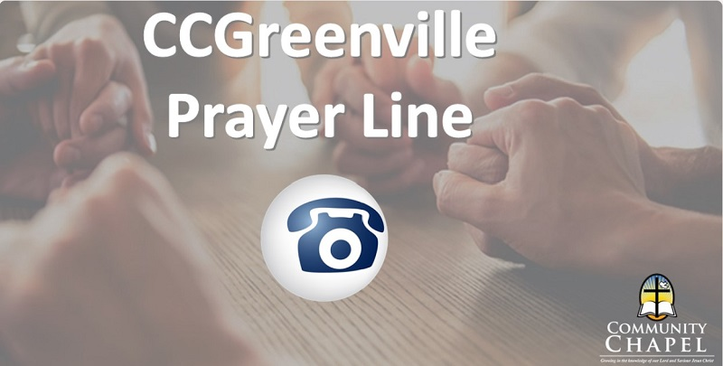 CCG PrayerLine 800x405