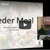 2018 Seder Meal